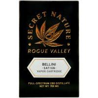 Secret Nature CBD Distillate Vape Cartridge Bellini