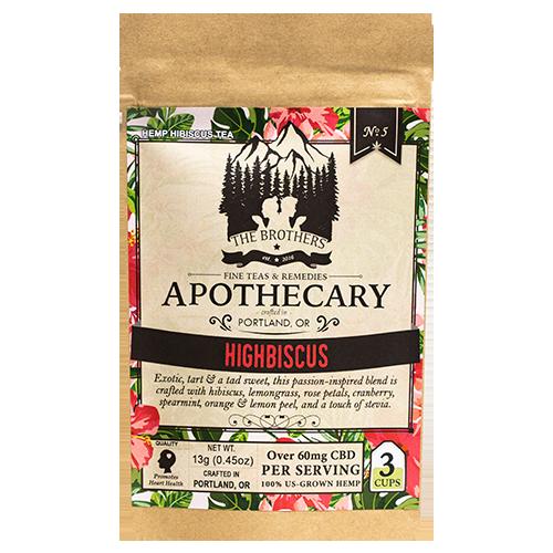 The Brothers Apothecary CBD Tea Highbiscus