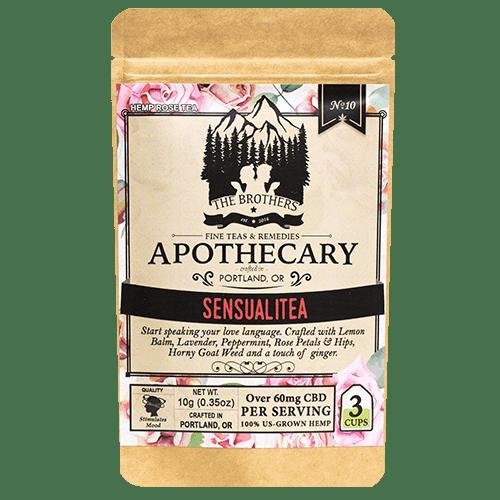 The Brothers Apothecary CBD Tea Sensualitea
