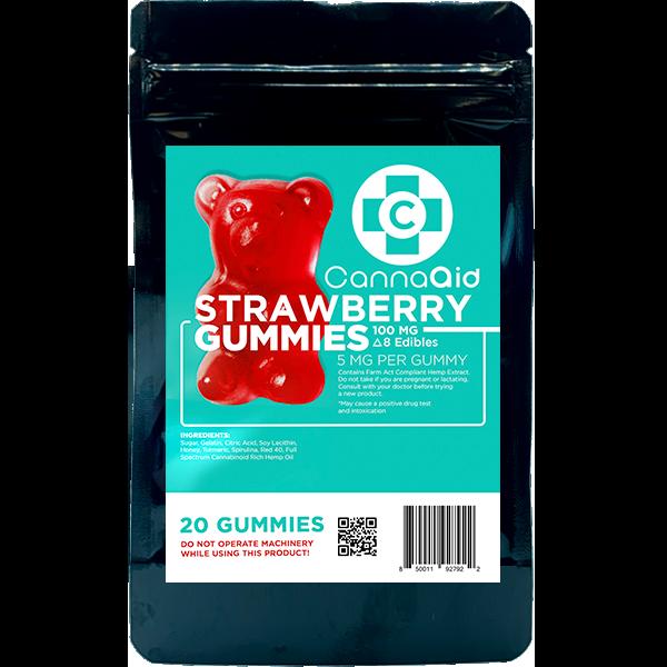 Cannaaid CBD Gummies 240mg 10ct