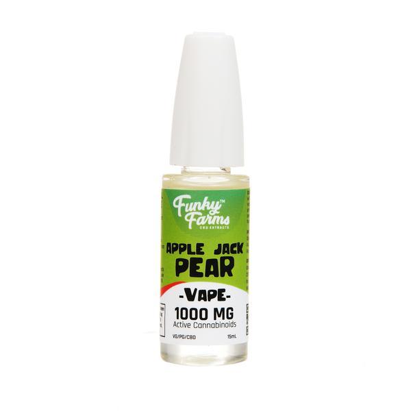 Funky Farms CBD Vape Juice Apple Jack Pear