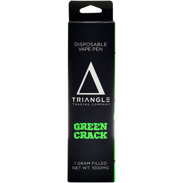 Triangle Trading Co Delta 8 Vape Pen Green Crack 1g