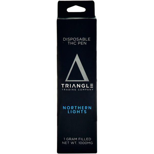 Triangle Trading Co Delta 8 Vape Pen Northern Lights 1g