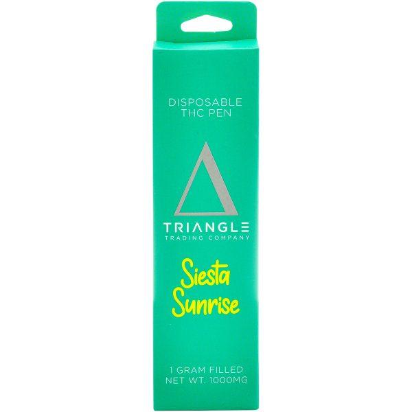 Triangle Trading Co Delta 8 Vape Pen Siesta Sunrise 1g