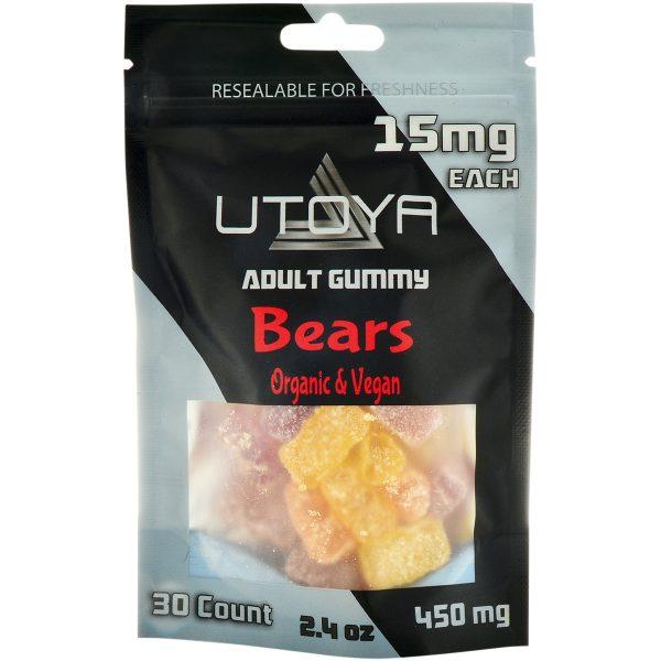 Utoya Delta 8 Gummy Bears 15mg 30ct