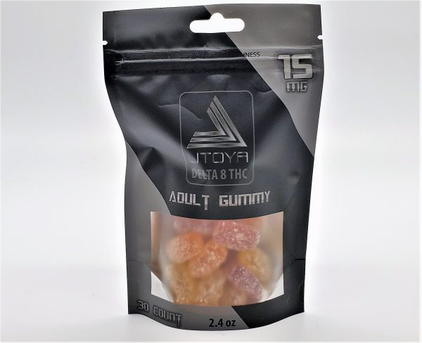 Utoya Delta 8 Gummy Bears 15mg 30ct