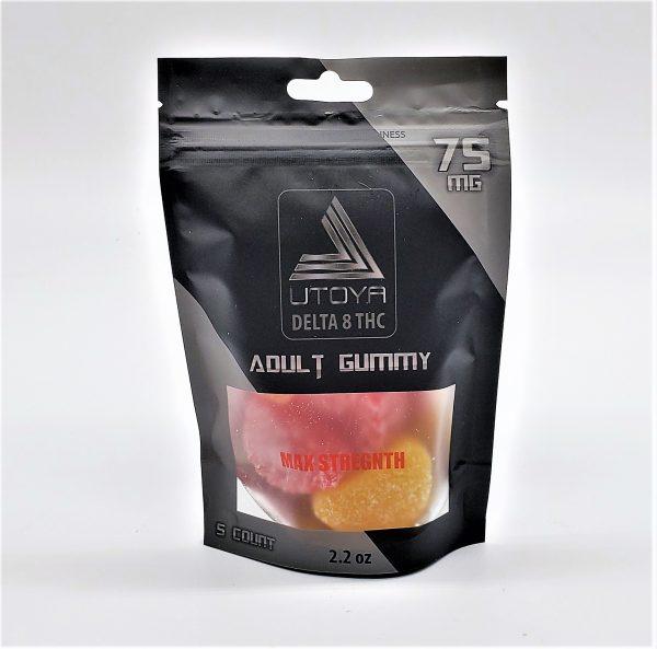 Utoya Delta 8 Gummy Fruit Slices 75mg 5ct