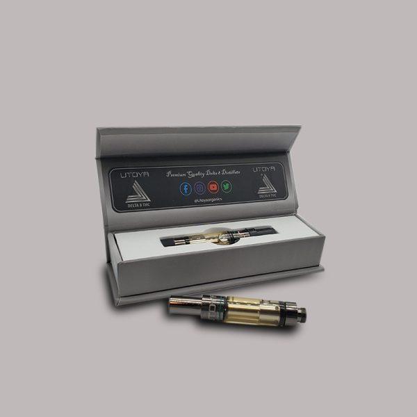 Utoya Delta 8 THC Vape Cartridge Bubba Kush 1ml