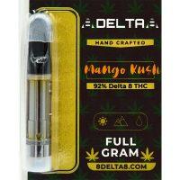 8Delta8 Vape Cartridge Mango Kush 1ml