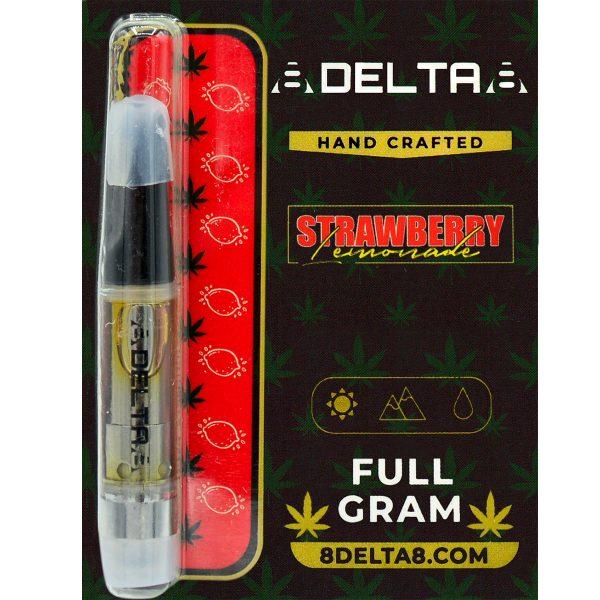 8Delta8 Vape Cartridge Strawberry Lemonade 1ml