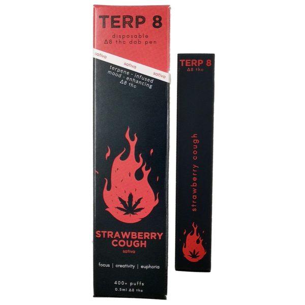 Terp 8 Delta 8 THC Vape Pen Strawberry Cough