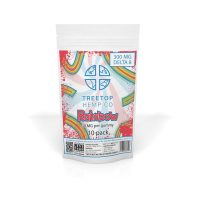 Tree Top Hemp Co Delta 8 Gummies Rainbow 300mg 10pk