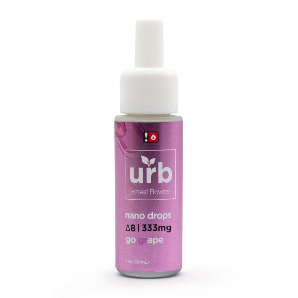 Urb Delta 8 Nano Drops Go Grape
