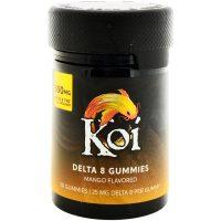 Koi CBD Delta 8 Gummies Mango 500mg 20ct