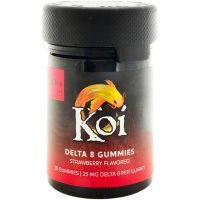 Koi CBD Delta 8 Gummies Strawberry 500mg 20ct