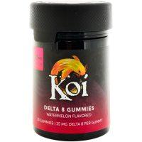 Koi CBD Delta 8 Gummies Watermelon 500mg 20ct