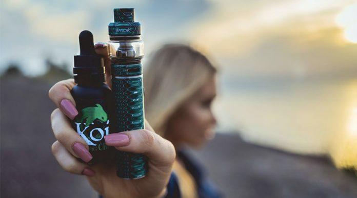 Koi CBD Vape Juice Strawberry Milkshake Review