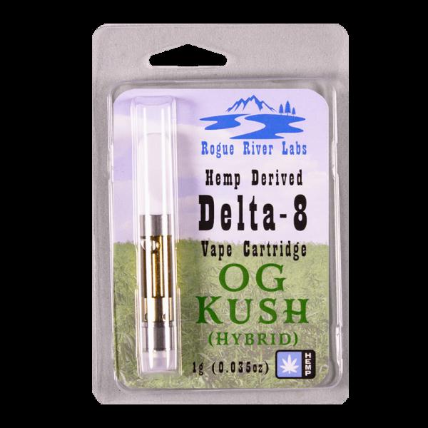 Rogue River Labs Delta 8 Vape Cartridge OG Kush 1ml
