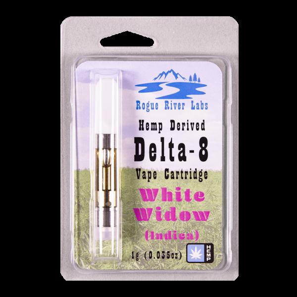 Rogue River Labs Delta 8 Vape Cartridge White Widow 1ml