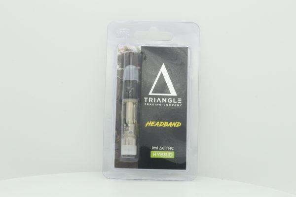 Triangle Trading Co Delta 8 Vape Cartridge Headband 1ml