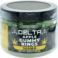 8Delta8 Gummies Apple Rings 300mg 20ct