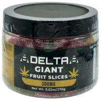 8Delta8 Gummies Fruit Slices 300mg 20ct