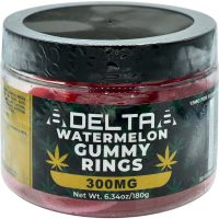 8Delta8 Gummies Watermelon Rings 300mg 20ct
