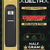 8Delta8 Vape Pen Strawberry Lemonade