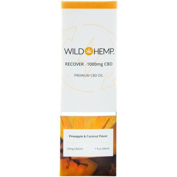 Wild Hemp Broad Spectrum CBD Tincture Recover 1000mg 30ml