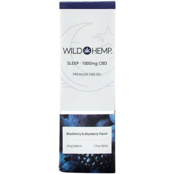Wild Hemp Broad Spectrum CBD Tincture Sleep 1000mg 30ml