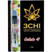 3Chi Delta 8 Vape Cartridge Gelato 41 1ml