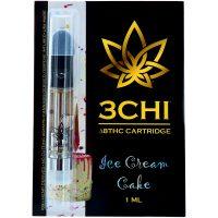 3Chi Delta 8 Vape Cartridge Ice Cream Cake 1ml