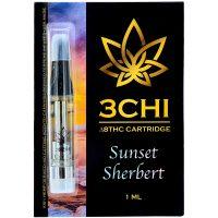 3Chi Delta 8 Vape Cartridge Sunset Sherbert 1ml