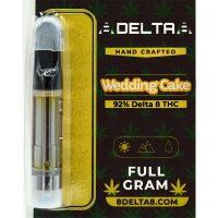 8Delta8 Vape Cartridge Wedding Cake 1ml