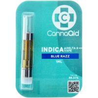 Cannaaid Delta 8 Vape Cartridge Blue Razz 1ml