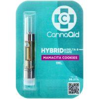 Cannaaid Delta 8 Vape Cartridge Mamacita Cookies 1ml