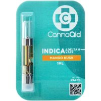 Cannaaid Delta 8 Vape Cartridge Mango Kush 1ml