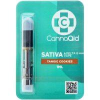 Cannaaid Delta 8 Vape Cartridge Tangie Cookies 1ml