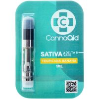 Cannaaid Delta 8 Vape Cartridge Tropicana Banana 1ml