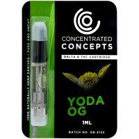 Concentrated Concepts Delta 8 Vape Cartridge Yoda OG 1ml