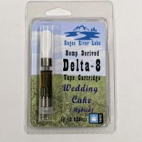 Rogue River Labs Delta 8 Vape Cartridge Wedding Cake 1ml