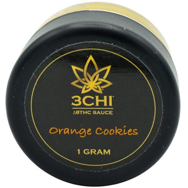3Chi Delta 8 Dab Sauce Orange Cookies