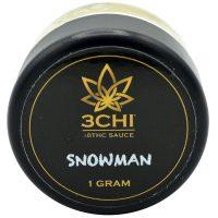 3Chi Delta 8 Dab Sauce Snowman