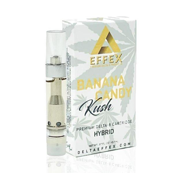 Delta Effex Delta 8 Vape Cartridge Banana Candy 1ml