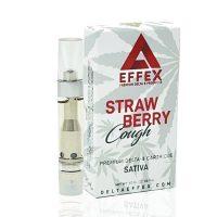 Delta Effex Delta 8 Vape Cartridge Strawberry Cough 1ml