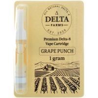 Delta Farms Delta 8 Vape Cartridge Grape Punch 1ml