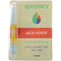 Spensary Delta 8 Full Spectrum Vape Cartridge Jack Herer 1ml