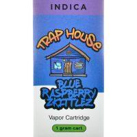 Trap House Delta 8 Vape Cartridge Blue Raspberry Zkittlez 1ml
