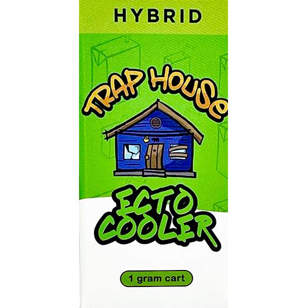 Trap House Delta 8 Vape Cartridge Ecto Cooler 1ml