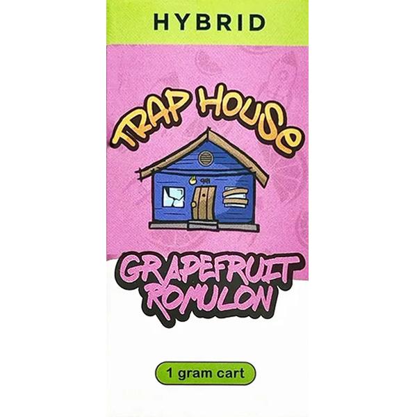 Trap House Delta 8 Vape Cartridge Grapefruit Romulon 1ml